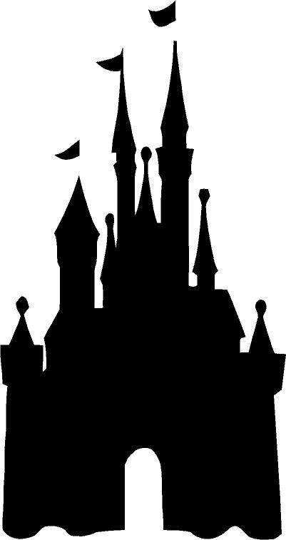 Magic Kingdom Castle Silhouette Clip Art