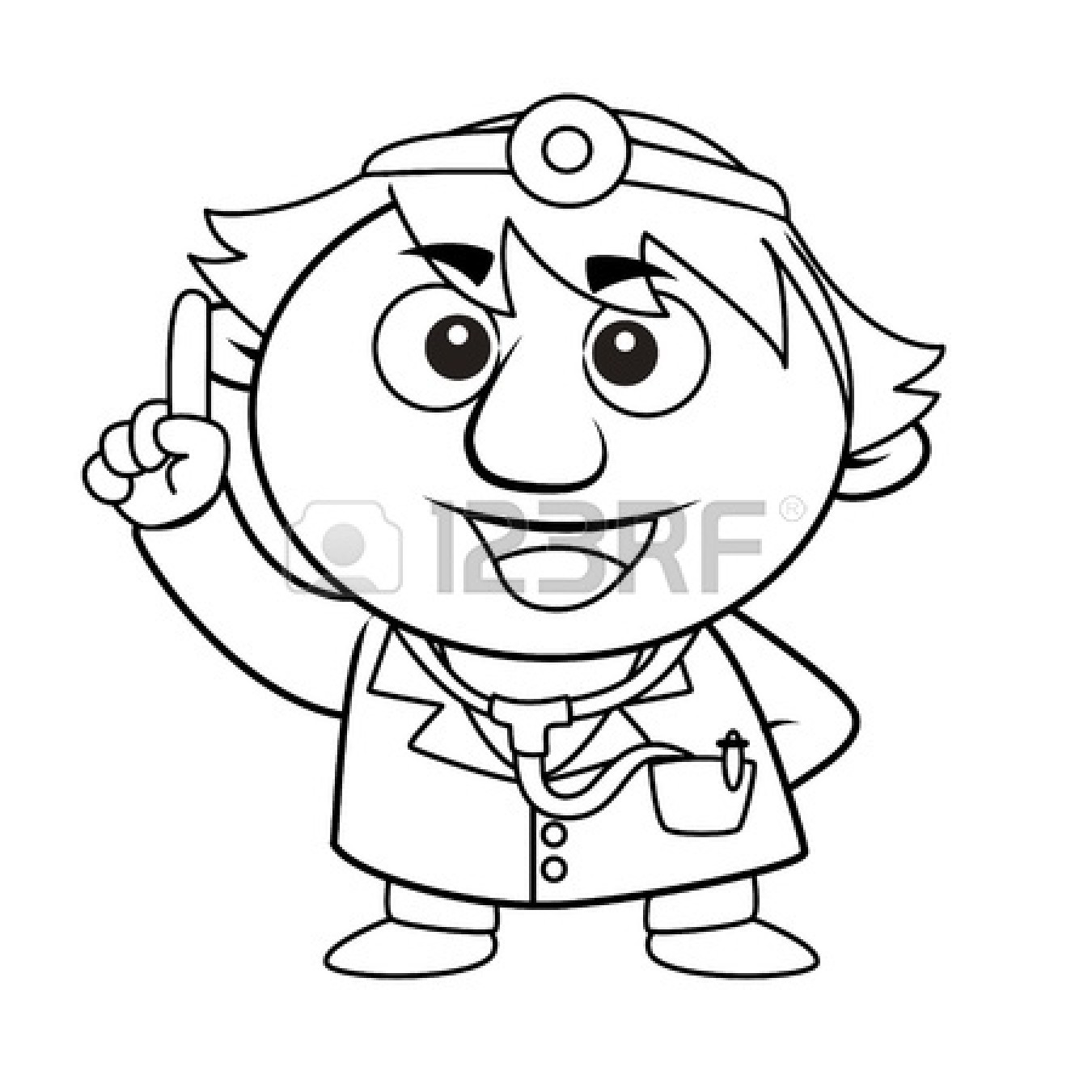 Doctor Tools Clipart Black And White