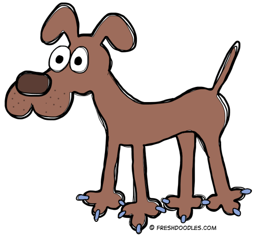 small resolution of dog clip art