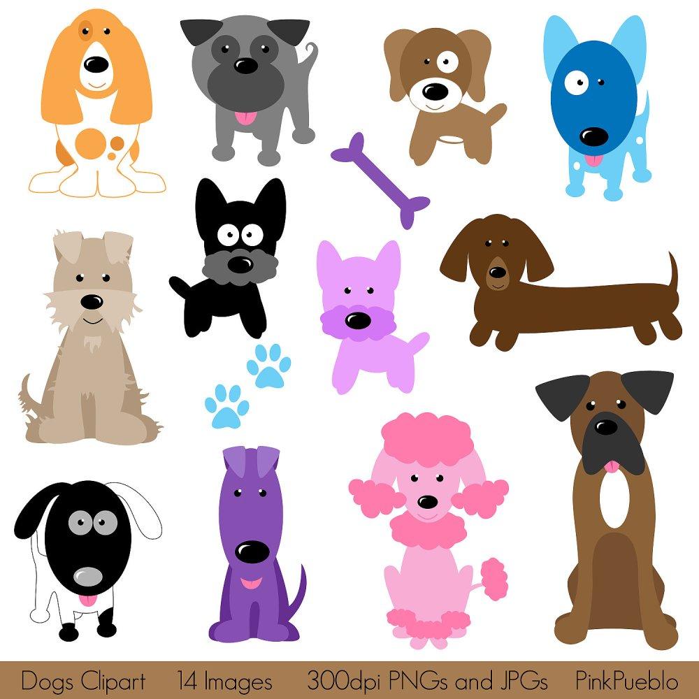 medium resolution of dogs clipart