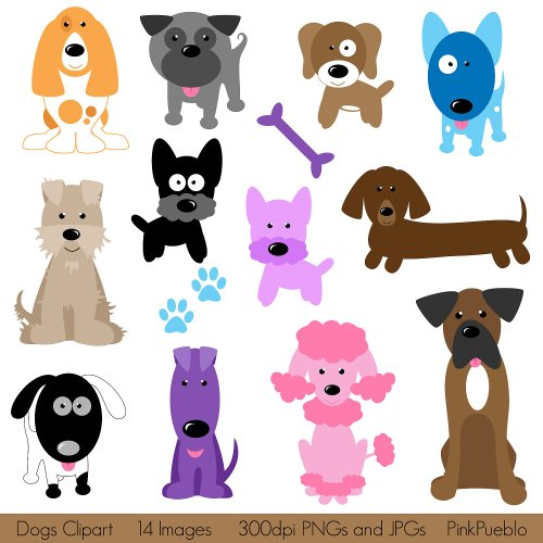 small resolution of dogs clipart