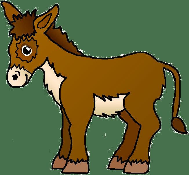Donkey Clipart | animalgals