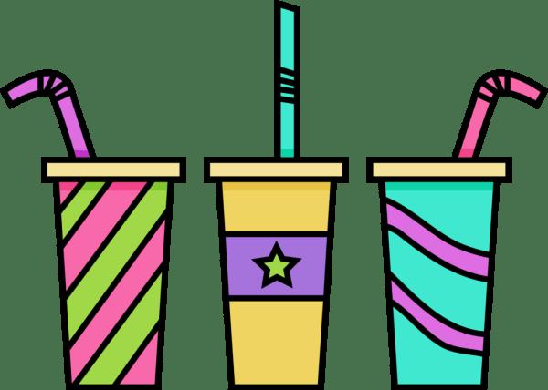 clipart - drinks panda