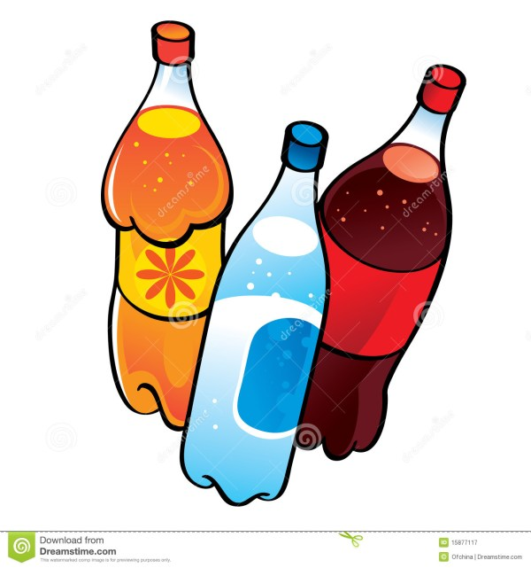 drinks clipart black and white