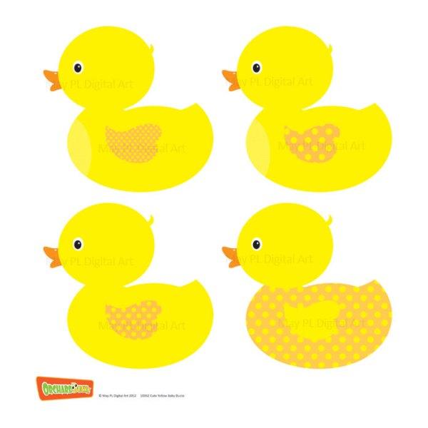 duck clip art baby shower