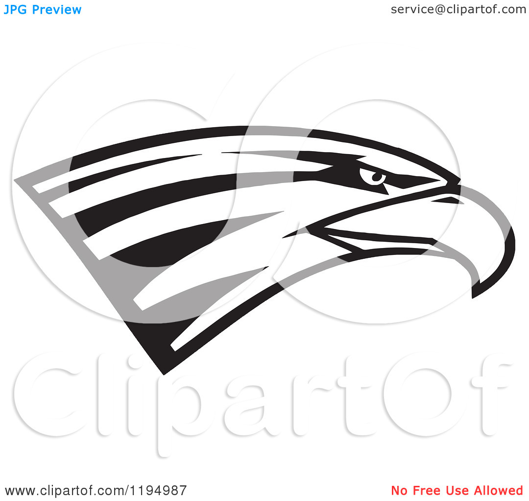 Eagle Head Clipart Black And White Clipart Panda