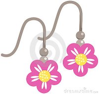 Earring 20clipart | Clipart Panda - Free Clipart Images