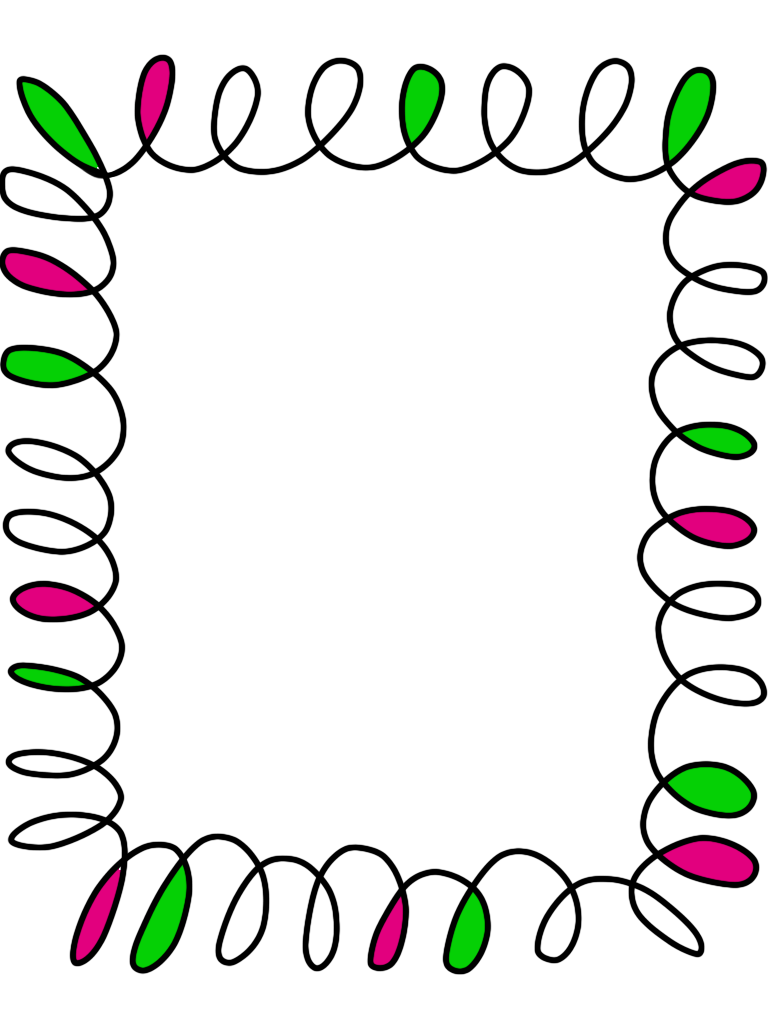 hight resolution of elementary school clipart border