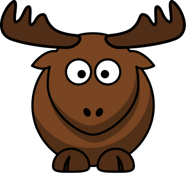Elk Cartoon Clip Art