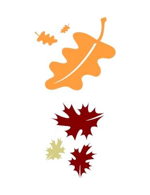 fall leaves clipart panda