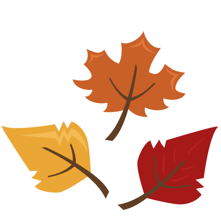 fall leaves clip art printables