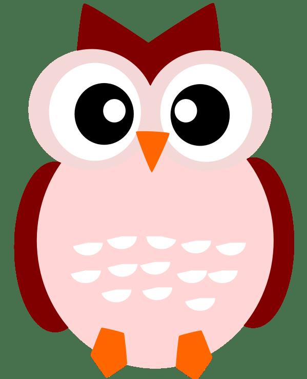 fall owl clipart panda