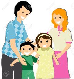 family clipart [ 1207 x 1300 Pixel ]