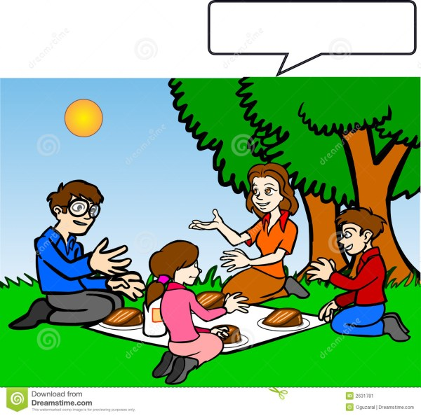 family picnic clipart
