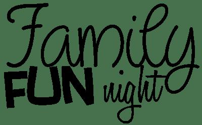 family fun night clipart panda