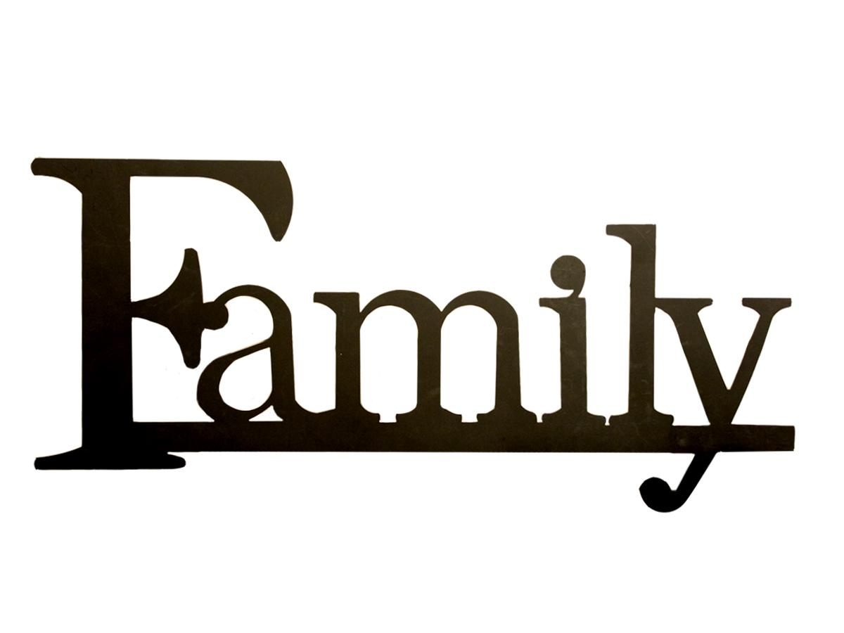The Word Family Clipart Panda