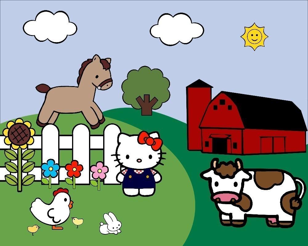 hight resolution of farm clipart