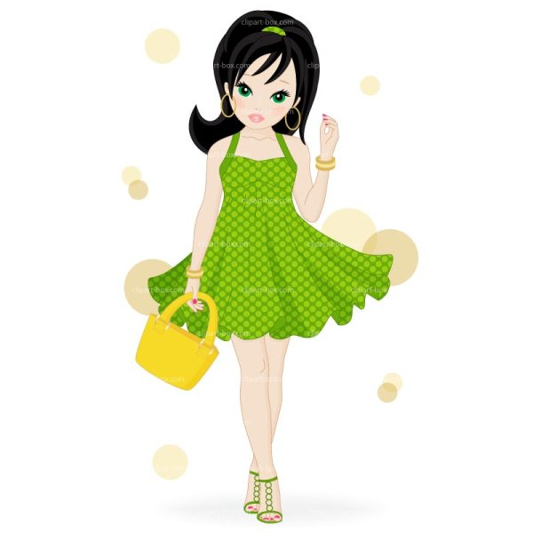 Fashion Girl Clip Art
