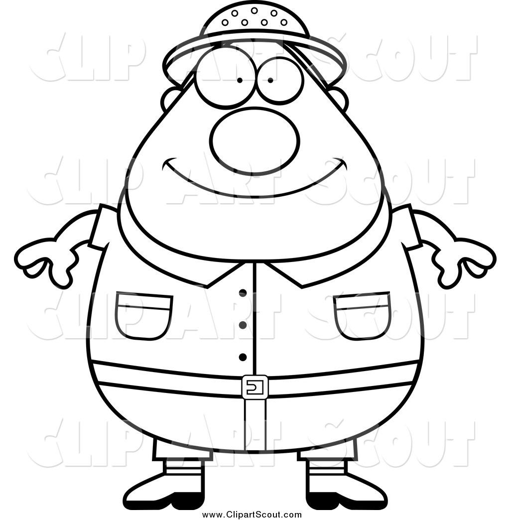 Obese White Man
