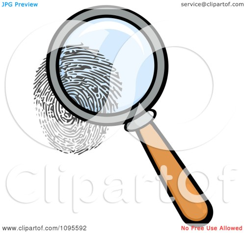 small resolution of magnifying glass clipart observation clipart fingerprint clipart