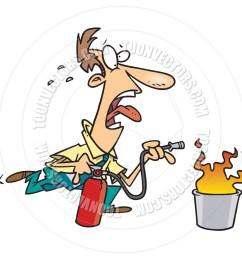 fire extinguisher cartoon [ 940 x 940 Pixel ]