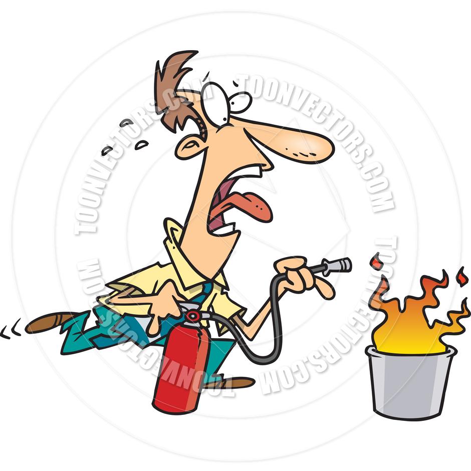 medium resolution of fire extinguisher cartoon