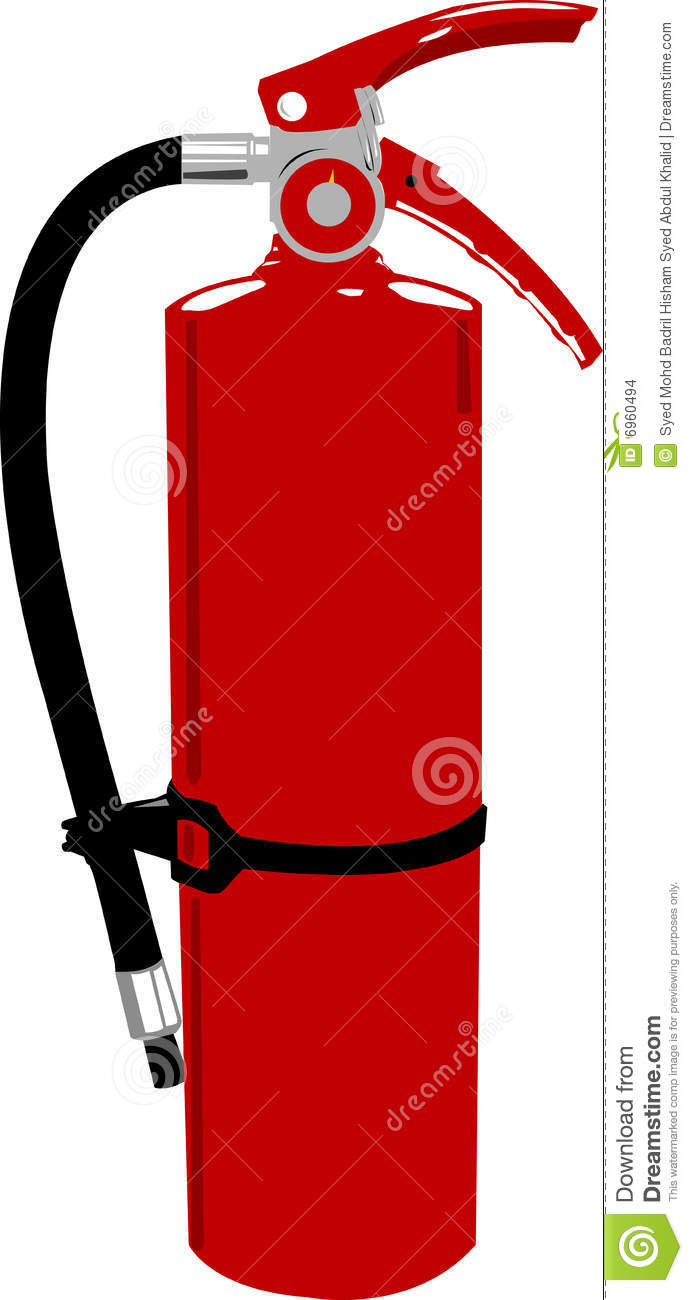 hight resolution of fire extinguisher clipart