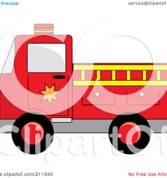 fire truck clipart [ 1080 x 1024 Pixel ]