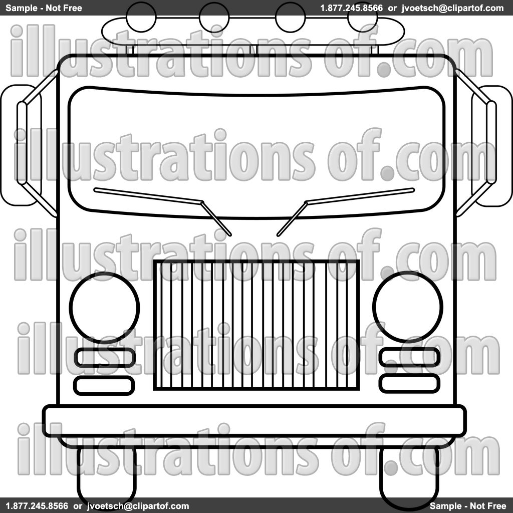 Fire Truck Clipart Black And White Clipart Panda