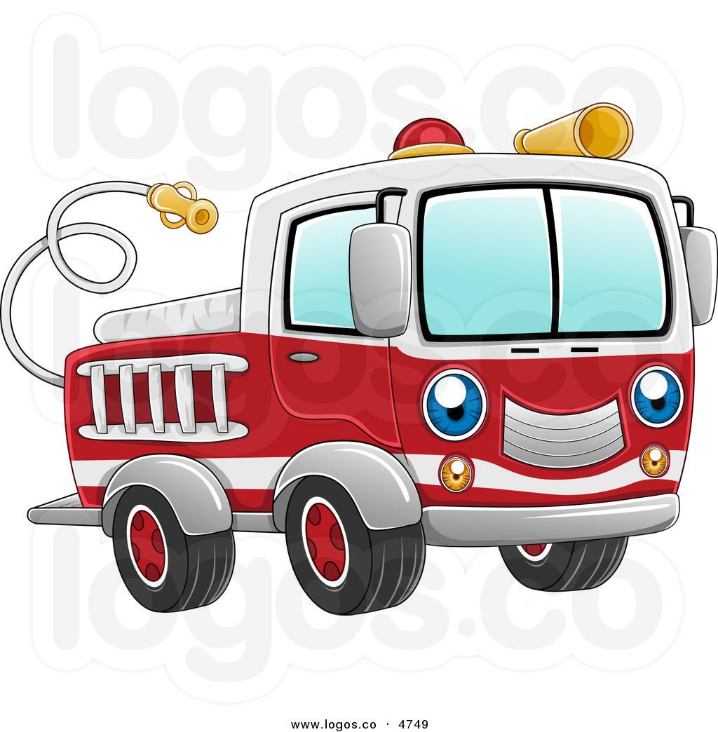hight resolution of fire truck clipart