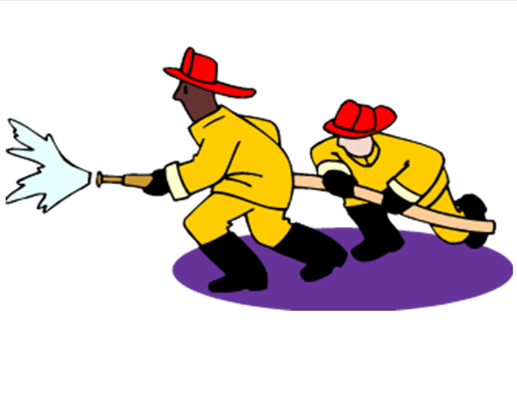 hight resolution of firefighter clip art