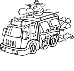 fire clipart firefighter truck fighter clip penguin cliparts firetruck clipartmag clker panda help library clipground