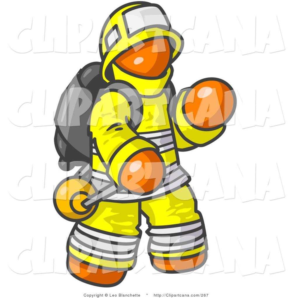 medium resolution of firefighter clipart