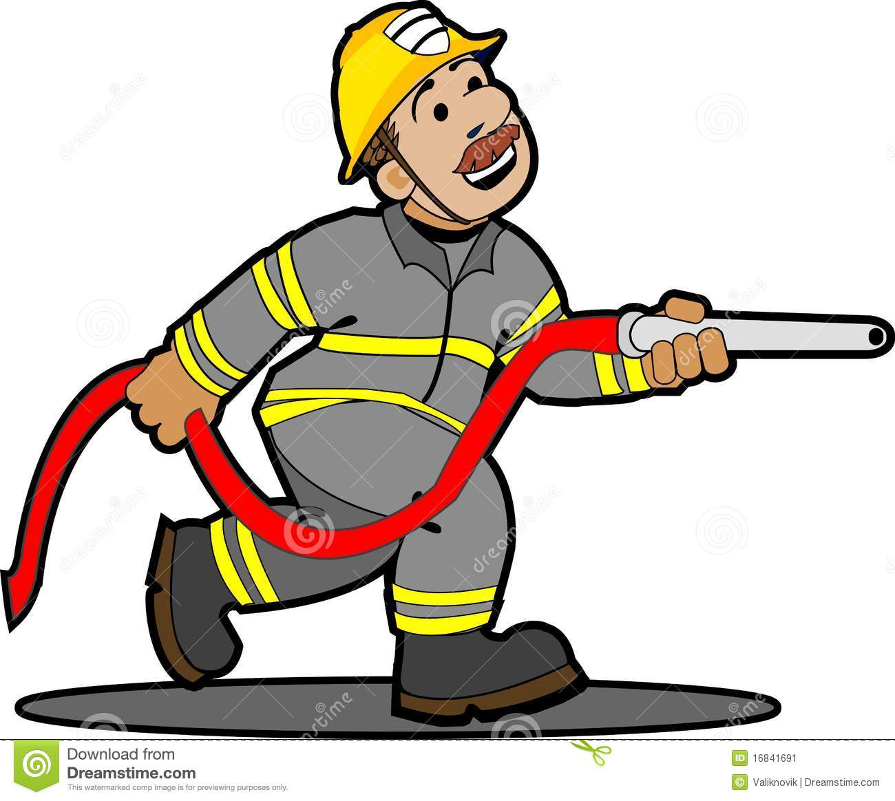 hight resolution of firefighter dog cartoon