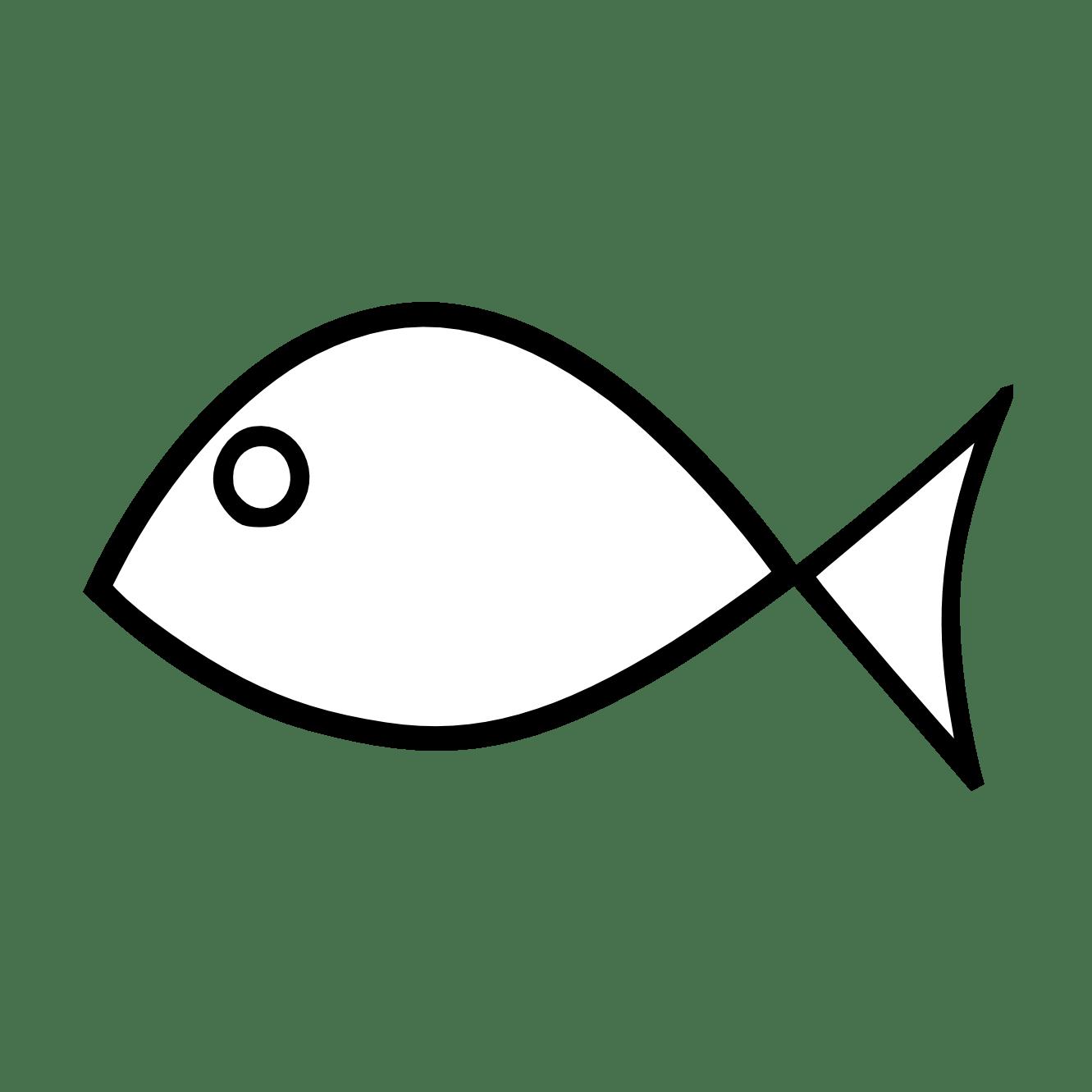 hight resolution of fish clip art