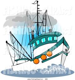 fishing boat clipart [ 1024 x 1044 Pixel ]