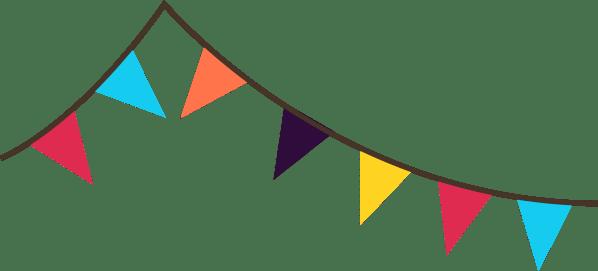 flag banner clipart panda