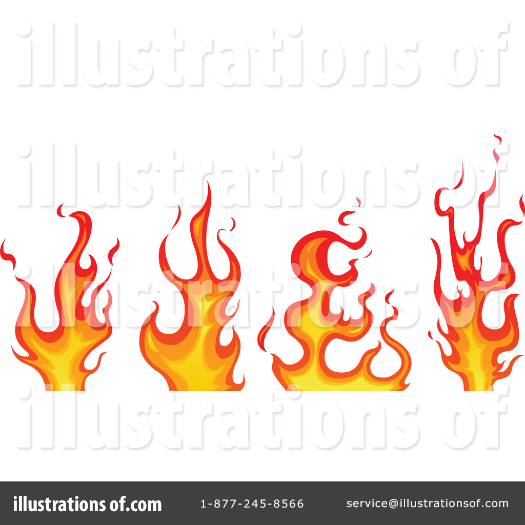 hight resolution of flames clipart