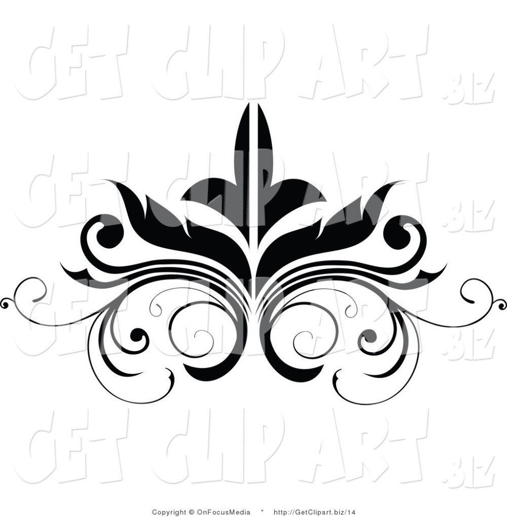 medium resolution of flourish clipart