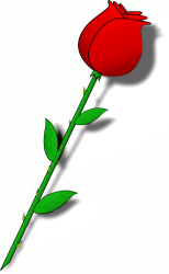 flower clipart stem rose clip roses clipartpanda terms domain