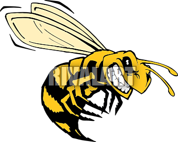 flying bee graphic clipart panda