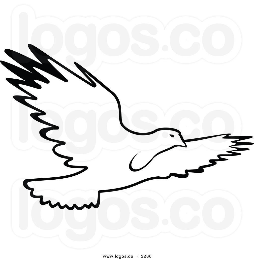 Flying Bird Clipart