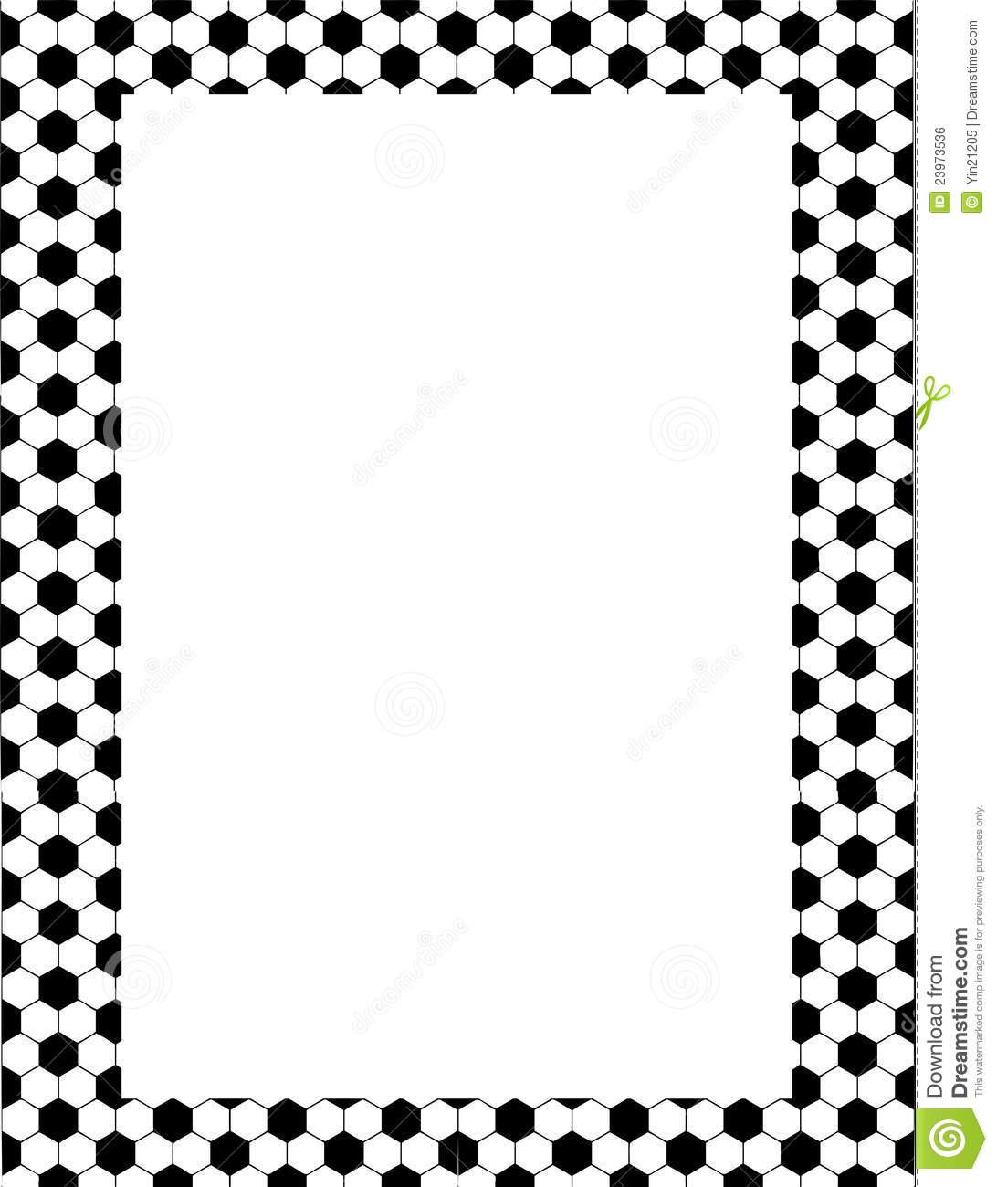 Football Border Clipart Panda