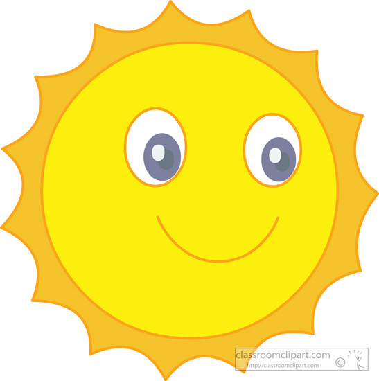 happy sun clipart panda