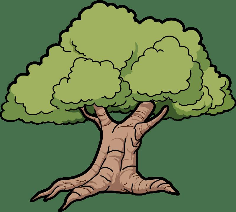 clipart tree clipart panda