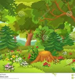 forest clipart [ 1300 x 1000 Pixel ]