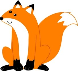 fox clipart clip down sitting orange animal illustration cute cartoon female cliparts panda clipartpanda vector clipartix projects these clipartion presentations