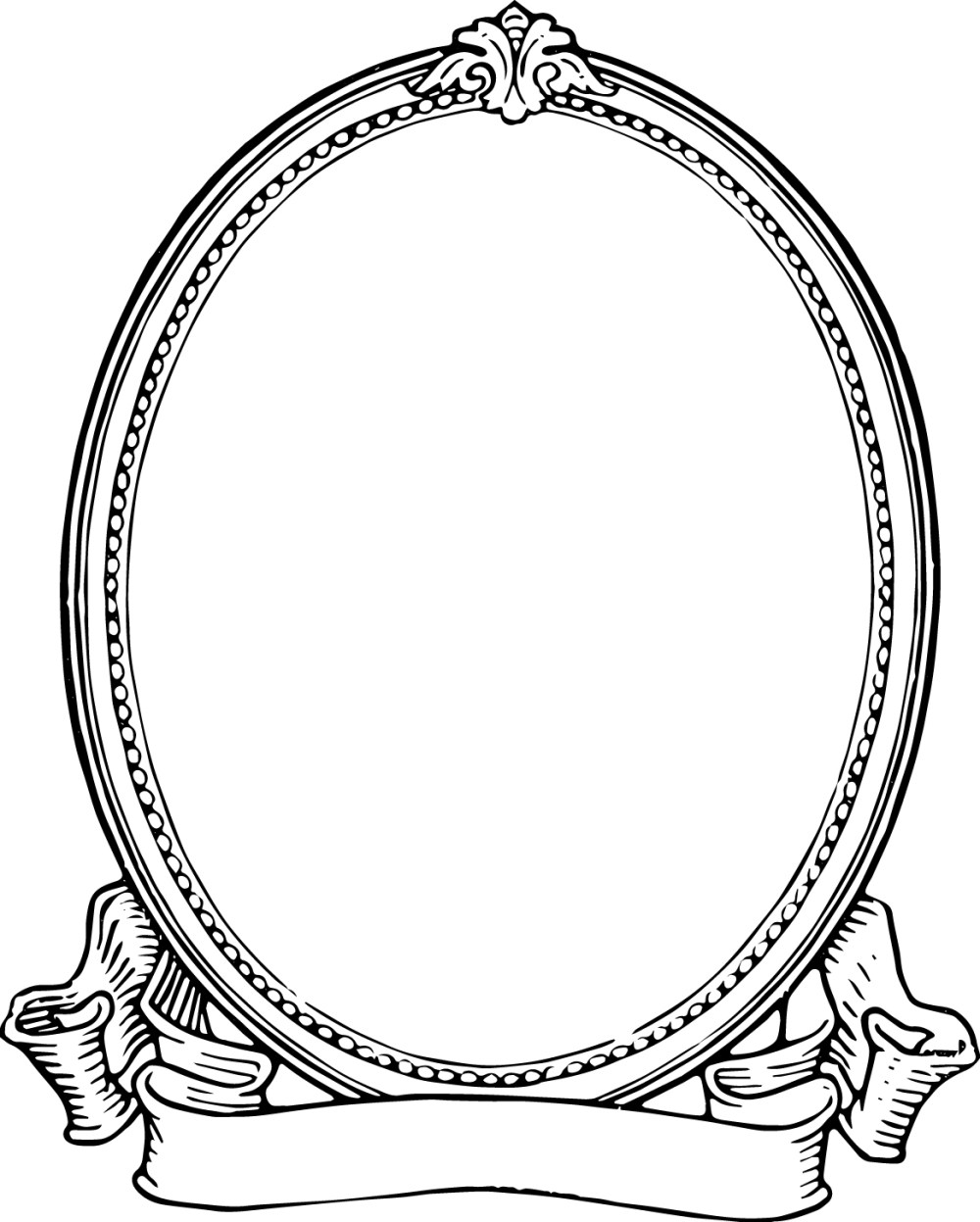 medium resolution of frame clipart black and white