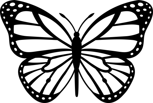 small resolution of free butterfly clipart white clipart