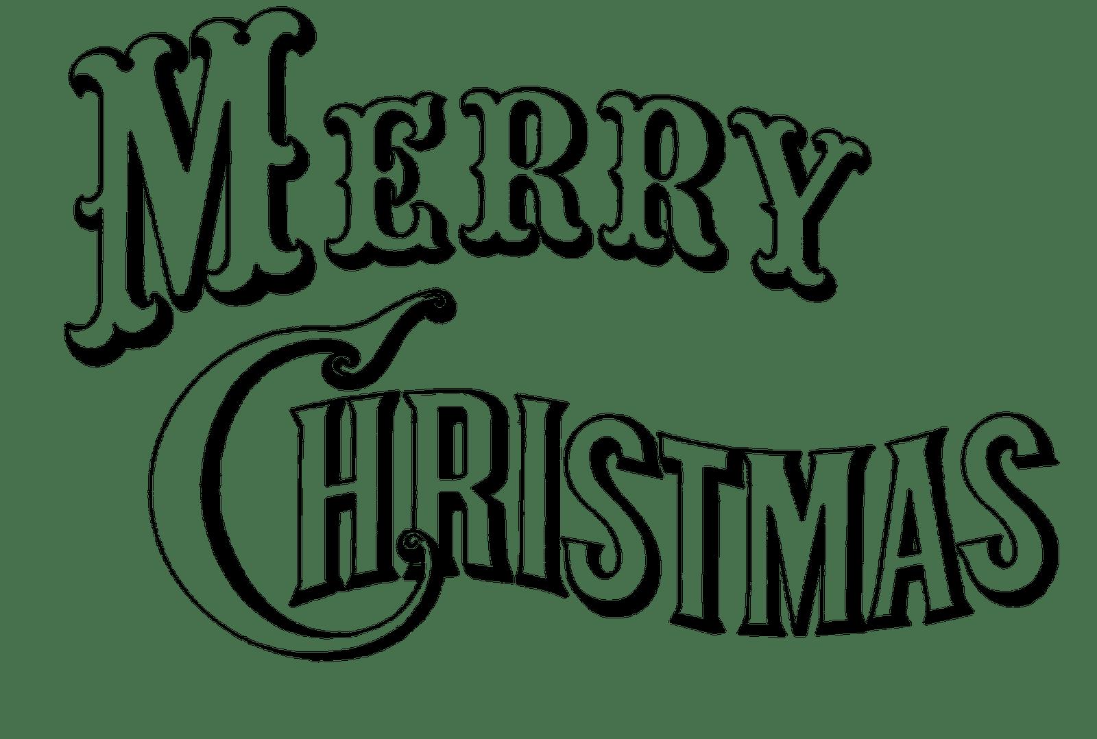 Religious Merry Christmas Clip Art